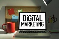 Digital marknadsföring royaltyfria bilder