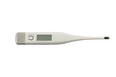 Digital medical thermometer Royalty Free Stock Images