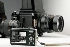 Digital and medium format Royalty Free Stock Photography