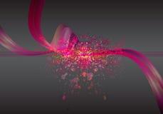 Digital menchii abstrakt na draka wektoru tle Fotografia Stock