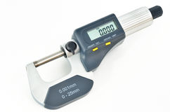 Digital micrometer Stock Images