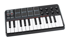 Digital Midi Keyboard Royalty Free Stock Photo