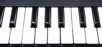 Digital Midi Keyboard Royalty Free Stock Image