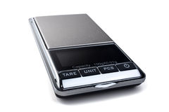 Digital mini scales Stock Photos