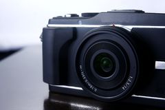 Digital mirrorless camera Stock Image