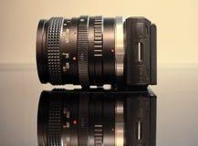 Digital mirrorless kamera Arkivbilder