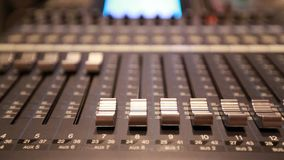 Digital Mixing Sound Studio stock video