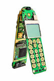 Digital mobile phone pcb. Digital mobile phone printed boards with lcd display Royalty Free Stock Photo