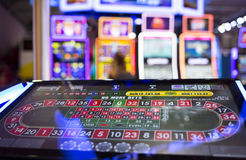 Free Digital Modern Roulette Table Monitor Stock Image - 87699211