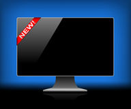 Digital monitor Stock Image