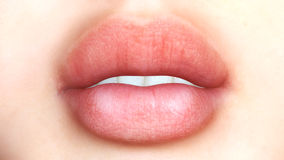 Digital Mouth Royalty Free Stock Images