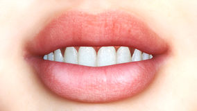 Digital Mouth Royalty Free Stock Image