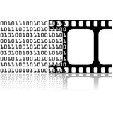 Digital movie Royalty Free Stock Image
