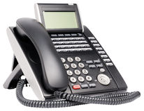 Digital multi-button telephone Stock Image