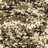 Digital Multicam Camo Royalty Free Stock Images