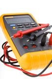 digital multimeter royaltyfri bild