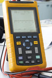 Digital multimeter. High technology in a digital multimeter Royalty Free Stock Photos