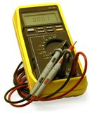 digital multimeter Arkivbilder