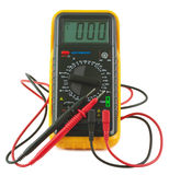 Digital multimeter. Royalty Free Stock Photo