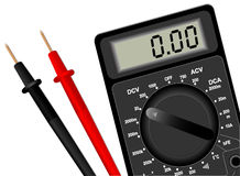 Digital multimeter Royalty Free Stock Photography