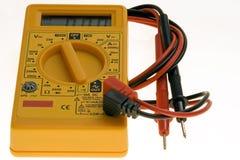 Digital multimeter. Electrical measuring equipment stock photography