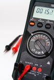Digital multimeter with focus on multimeter Stock Photo