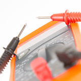 Digital multimeter isolated Stock Photography