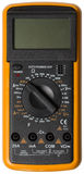 Digital Multimeter isolated stock image