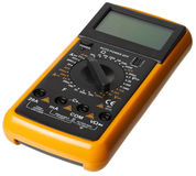 Digital Multimeter isolated royalty free stock images