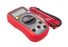 Digital multimeter isolated Stock Images