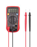 Digital multimeter isolated Stock Photo
