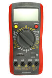 Digital multimeter isolated on the white background Royalty Free Stock Image