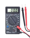 Digital multimeter isolated Royalty Free Stock Photos