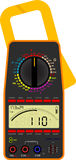 Digital multimeter Royalty Free Stock Photos