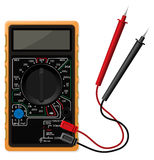 Digital multimeter vector illustration Royalty Free Stock Photo