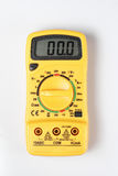 Digital Multimeter on white background Stock Photos