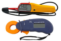 Digital  multimeters Royalty Free Stock Photography