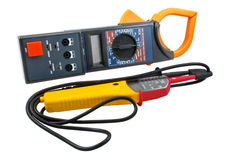 Digital  multimeters Royalty Free Stock Images