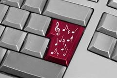 Digital music Stock Image