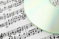 Digital music concept Stock Photo