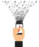Digital music Stock Photos