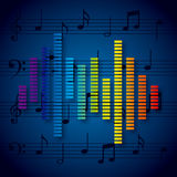 Digital music Royalty Free Stock Images