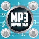 Digital music Royalty Free Stock Photo