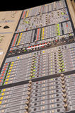 Digital Music Mixer. Professional digital music mixer console Royalty Free Stock Photography