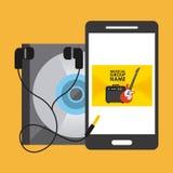Digital music technology Stock Photos