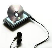 digital musik Arkivbilder