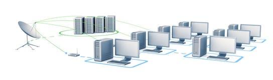 Digital network Stock Photography