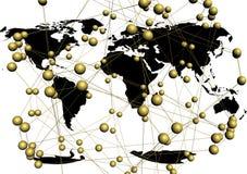 Digital network concept. Stock Image