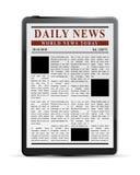 Digital News Concept Stock Photos