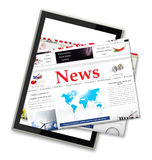 Digital news Royalty Free Stock Images
